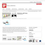 iF packaging design award 2014 Online exhibition